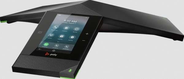 Poly Trio 8800 IP Skype4B VoIP-Konferenztelefon mit WiFi & Bluetooth NFC & PoE (ohne Netzteil)