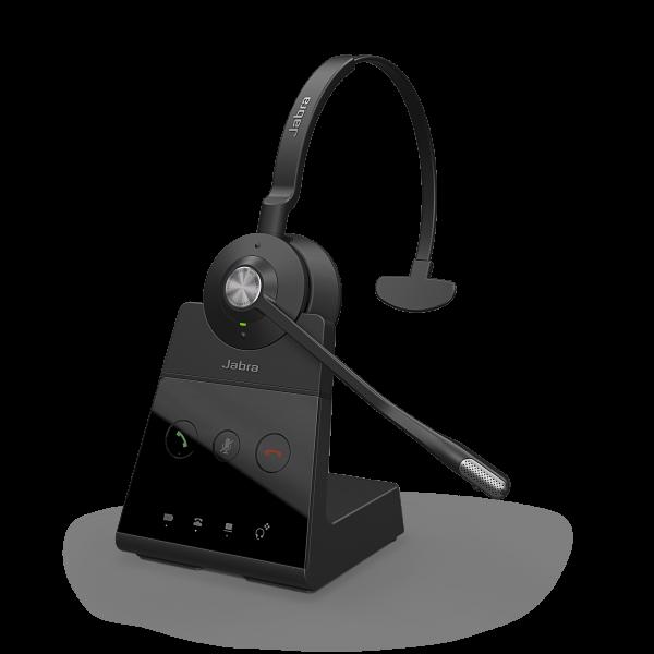Jabra Engage 65 Mono DECT NC Headset für Festnetz und PC Softphone