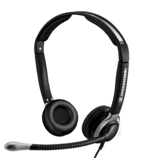 EPOS | SENNHEISER CC 540 Duo UNC Headset mit L Ohrpolstern
