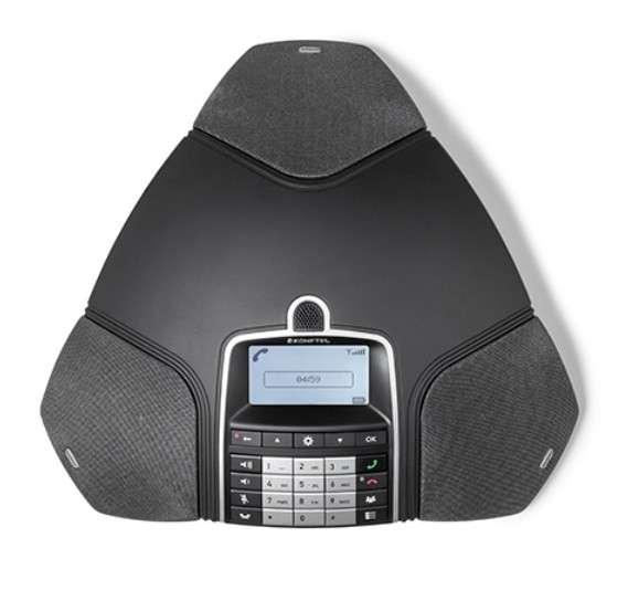 Konftel 300Wx DECT Konferenztelefon ohne DECT Basisstation inkl. Akku, Ladestation & USB-Kabel