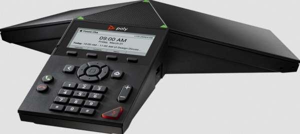 Poly Trio 8300 SIP IP VoIP-Konferenztelefon mit WiFi & Bluetooth & USB & PoE (ohne Netzteil)