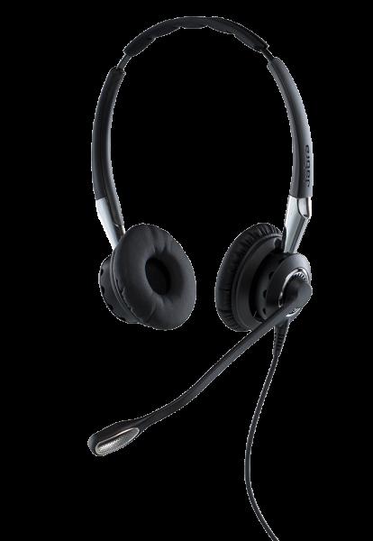 Jabra BIZ 2400 II Duo USB NC Headset mit CallControl und Bluetooth