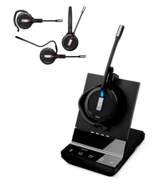 EPOS   SENNHEISER IMPACT SDW 5015 Mono 3-in-1 DECT UNC Headset für Festnetz und PC Softphone (option
