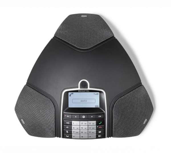 Konftel 300Wx IP DECT Konferenztelefon mit IP DECT 10-Basisstation inkl. Akku, Ladestation & USB-Kab