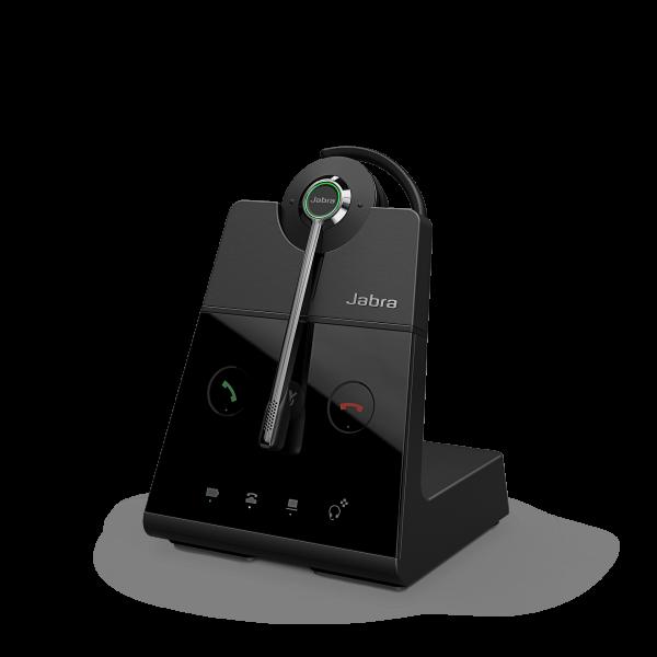 Jabra Engage 65 Convertible DECT NC Headset für Festnetz und PC Softphone