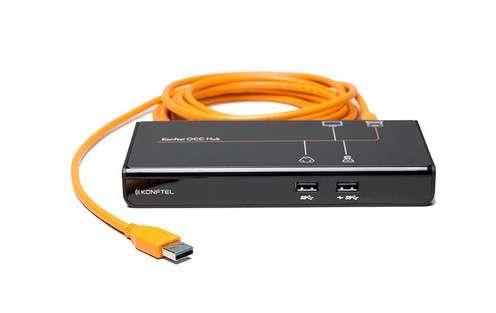 Konftel OCC Hub mit 1x USB3.0, 2x USB2.0 und 1x HDMI