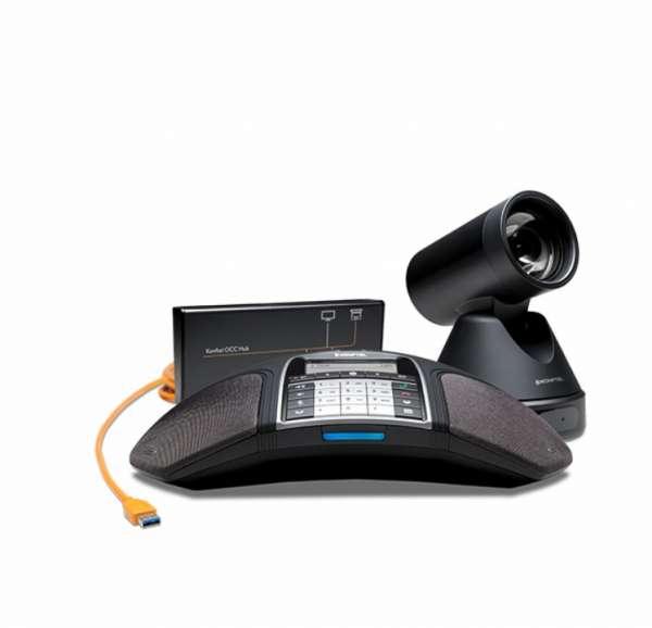 Konftel C50300IPx Hybrid USB Videokonferenzsystem inkl. Konftel 300IPx+Cam50+OCC Hub