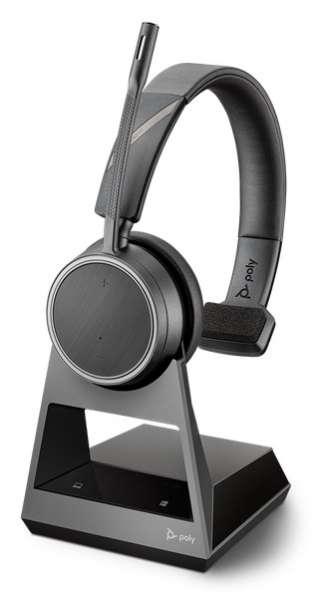 Poly Voyager 4210 Office USB-A 2-Way Base Mono Bluetooth NC Headset für Festnetz, PC Softphone und M