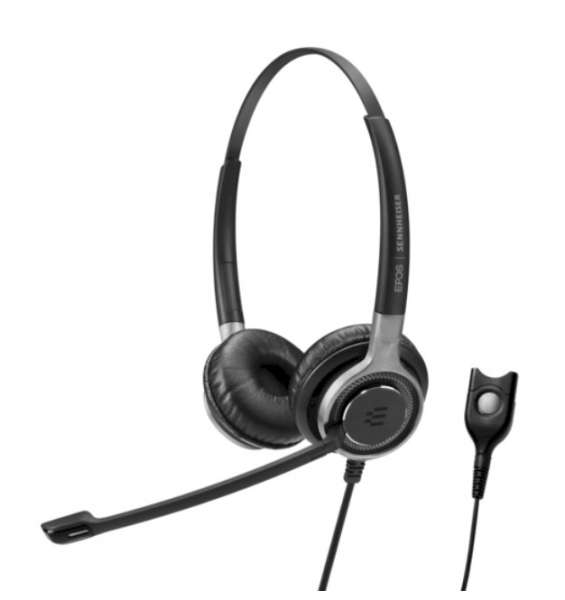 EPOS | SENNHEISER IMPACT SC 660 TC Duo UNC Headset für Hörgeräte (T-Stellung)