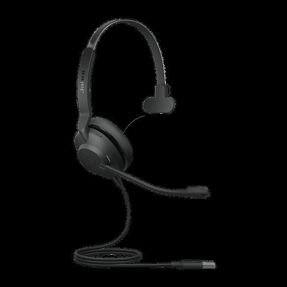 23089-889-979 Jabra Evolve2 30MS TeamsMono USB-A NC Headset mit Busylight & CallControl für Microsoft Teams