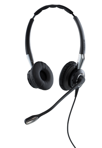 Jabra BIZ 2400 II Duo USB MS NC Headset mit CallControl und Bluetooth für Microsoft