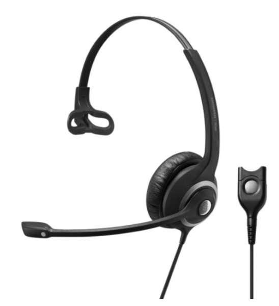 EPOS | SENNHEISER IMPACT SC 238 Mono NC Headset für Narrowband Telefone