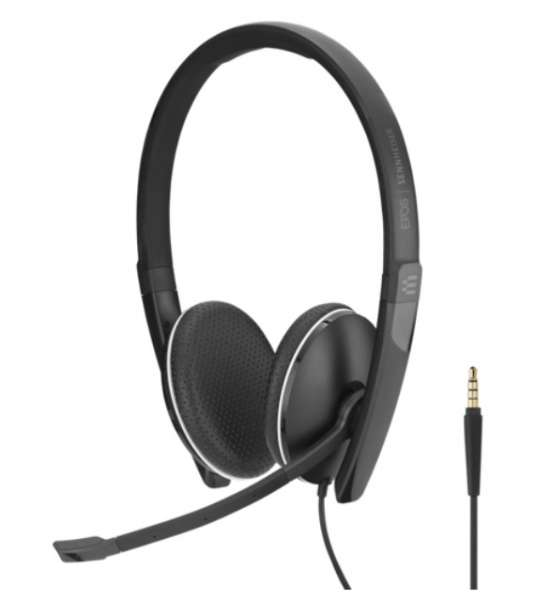 EPOS | SENNHEISER ADAPT SC 165 Duo 3,5mm Klinke NC Headset
