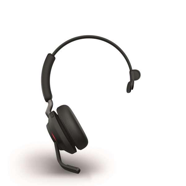 Jabra Evolve2 65 Link380a UC Mono Black Bluetooth NC Headset inkl. Link 380 USB-A UC BT Dongle an PC