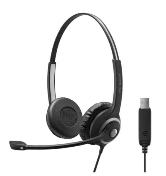 EPOS | SENNHEISER IMPACT SC 260 USB ML/UC Duo NC Headset für UC/Microsoft