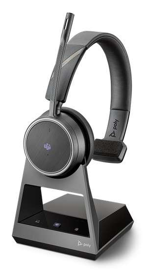 Poly Voyager 4210 Office MS Teams USB-A 2-Way Base Mono Bluetooth NC Headset für Festnetz, PC Softph