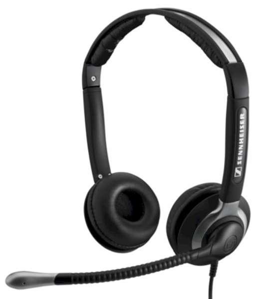 EPOS | SENNHEISER CC 550 Duo UNC Headset mit XL Ohrpolstern