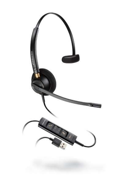 Poly EncorePro HW515 USB-A Mono NC Headset mit CallControl für UC/Microsoft