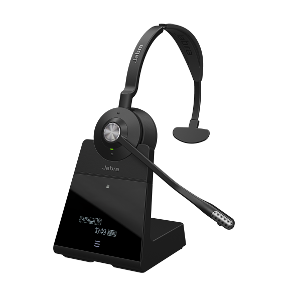 Jabra Engage 75 Mono DECT NC Headset für Festnetz, PC Softphone und Mobiltelefon