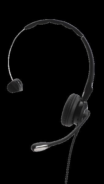 Jabra BIZ 2400 II Mono USB MS 3in1 NC Headset mit CallControl und Überkopfbügel, Ohrring, Ohrhaken f
