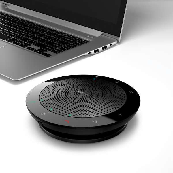 Jabra SPEAK 510+ UC Bluetooth & USB-Konferenzlösung inkl. Link 370 Dongle.