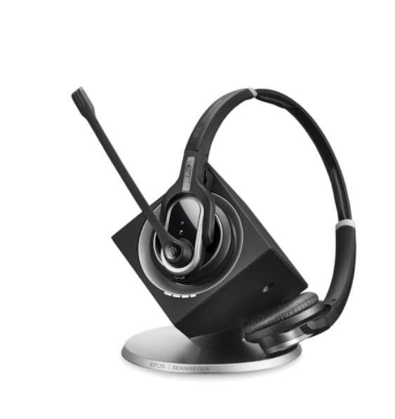 EPOS | SENNHEISER IMPACT DW30 PHONE Duo DECT UNC Headset für Festnetz