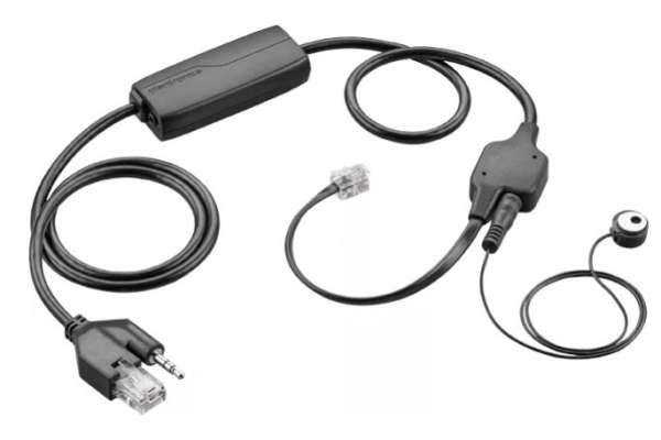 Poly APV-63 Avaya EHS Adapter an Avaya IP Endgeräten