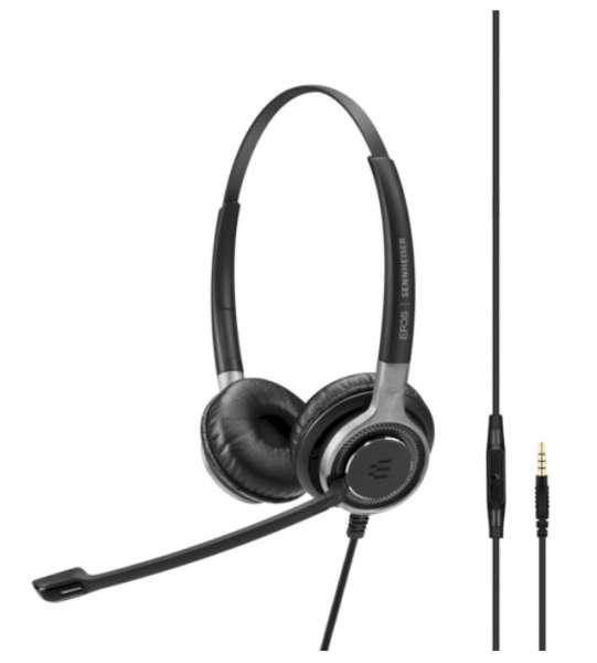 EPOS | SENNHEISER IMPACT SC 665 Duo 3,5mm Klinke UNC Headset