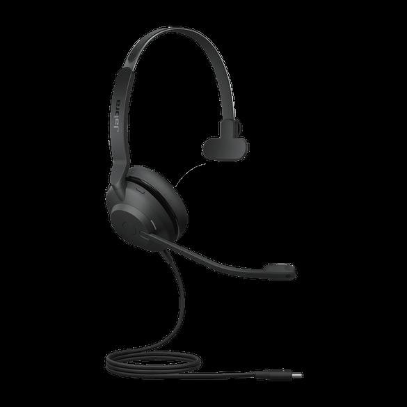 23089-889-879 Jabra Evolve2 30 UC MonoUSB-CNC Headset mit Busylight & CallControl