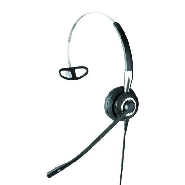 Jabra BIZ 2400 II Mono 3in1 NC Headset mit Überkopfbügel, Nackenbügel, Ohrhaken