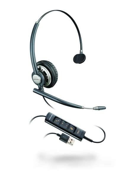 Poly EncorePro HW715 USB-A Mono NC Headset mit CallControl für UC/Microsoft