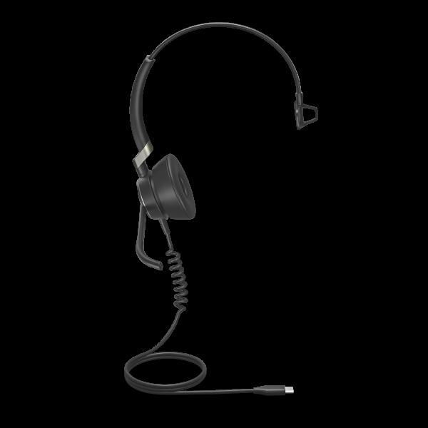 Jabra Engage 50 USB-C Mono Headset mit Super-Breitband-Audio und 3-Mikrofon-Technologie für PC Softp