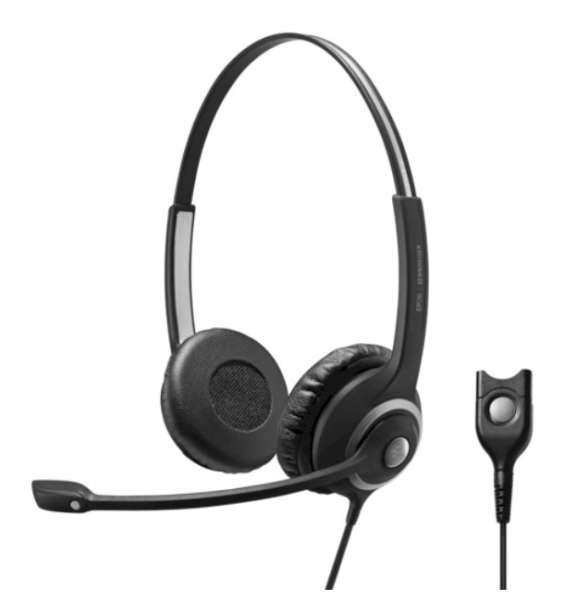 EPOS | SENNHEISER IMPACT SC 262 Duo NC Headset für Mobil- und DECT-Telefone