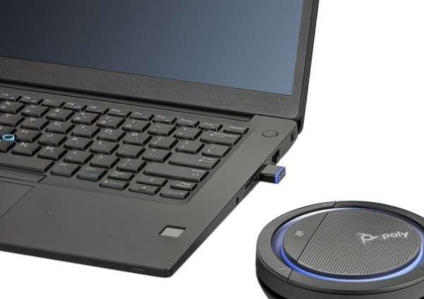 Poly Calisto CL5300-M BT600 USB-C & Bluetooth Konferenzlösung inkl. BT600 Dongle für Microsoft Teams
