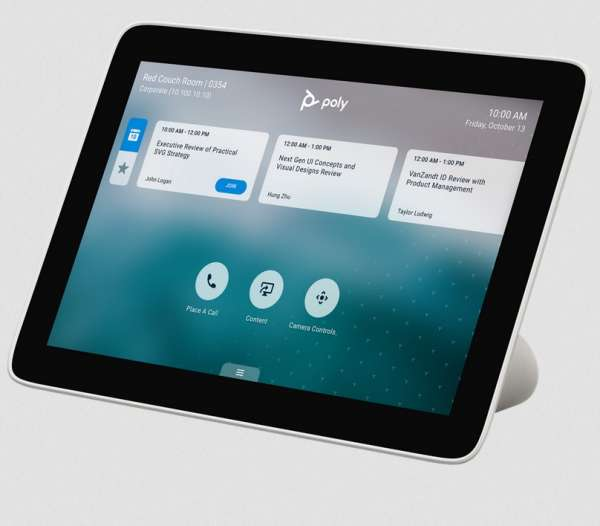 Poly TC8 Touch Control Steuerkonsole für STUDIO X30, STUDIO X50 und Poly G7500