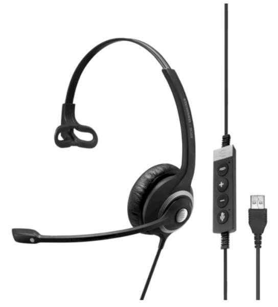 EPOS | SENNHEISER IMPACT SC 260 II USB ML/UC Duo NC Headset mit CallControl für UC/Microsoft